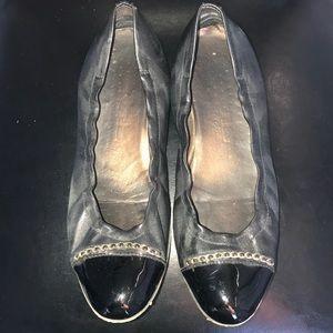 AGL Leather Ballet Flat